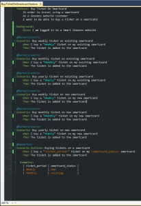 Automated Acceptance Tests using SpecFLow