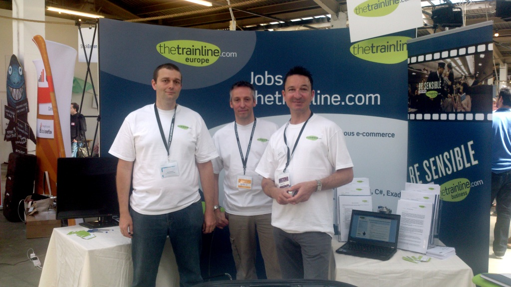 thetrainline at Silicon Milk 2013