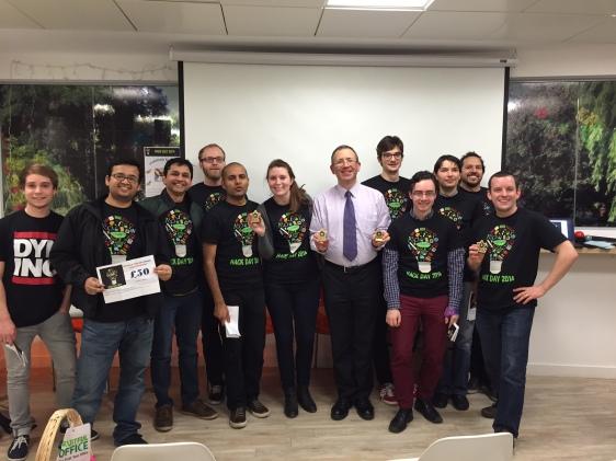 Hack Day Winners