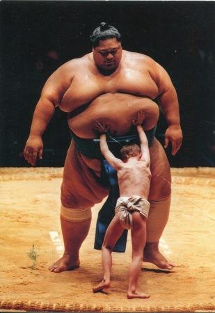 Sumo Konishiki by Raymond Kennedy 2009